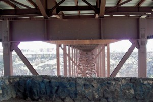 Under the Perrine Bridge
